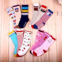 Original baby knee-high socks non-slip socks children socks 1-3 years old
