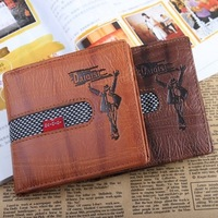 men's wallet retail-- Compact Folding Wallet for Men - coffee/ brown Dropshipping