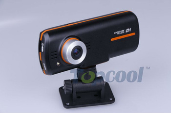 Free shipping  H.264 Dual Lens Car DVR video recorder G-Sensor FHD1920x1080p 20FPS 2.7' LCD/External IR Rear Camera MX3