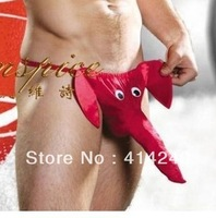 Free shipping new arrival Man passion Sexy Lingerie boxer briefs male underwear panty thong G-string  Elephant22