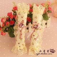Fabric lace refrigerator door handle sets door handle sets gloves 2