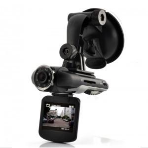 HD Car DVR Dashcam - Rotating Screen, Wide Angle Lens