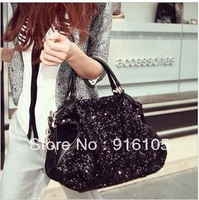 2013 European and American wind sequins female bag,Chain bag commuter one shoulder inclined shoulder bag,Z-291 Free shipping