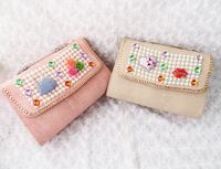 Free shipping!    2013 everta pearl flower rhinestone evening bag day clutch one shoulder cross-body