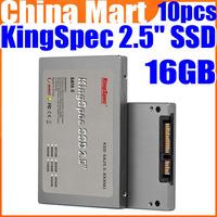 "16GB KingSpec 2.5"" SATA SSD Solid State Disk (MLC) High Speed Card Free Express 10pcs/lot"