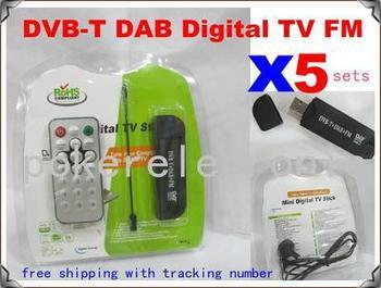 5SETSX New Cheap FM DAB USB DVB T RTL2832U R820T w MCX Antenna Hotsale