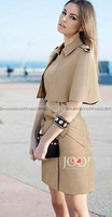 Shanghaimagicbox New Women Trendy Vintage Sweet OL Trench Coat Outwear WCOT129