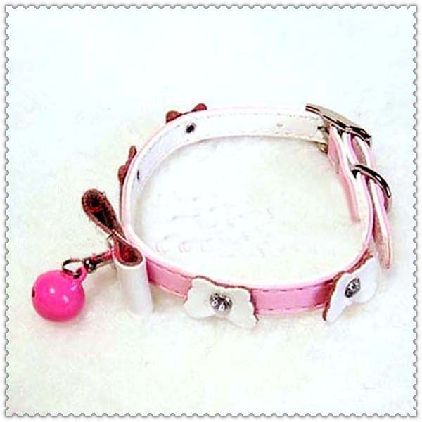 Pet dog accessories high quality necklace strap collar bow diamond(China (Mainland))