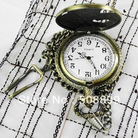 Free Shipping Restore ancient ways electronic pocket watch+Dropshipping +Dropshipping