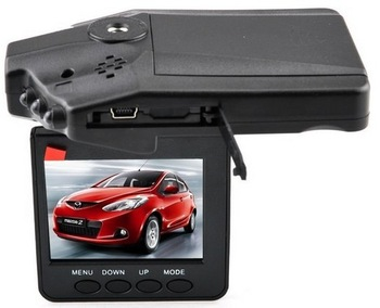 "H198 Car DVR Video Registrar with 115 Degree View Angle 2.5"" LCD 6 IR LED Night Vision DVR Car Camera"