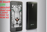 "K-touch u86 Android 4.1 100% real quad-core smart phone RAM 1G+ROM 4G gsm wcdma 4.5"" IPS 960*540"
