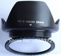 55mm Universal Professional screw petal Flower Lens Hood Shade for canon for nikon for sony retail package