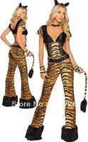 High Fashion Costume  Newest Sexy Tiger Costume Animal Costume