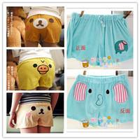 Free Shipping rilakkuma easily bear cute shorts and beach pants home shorts and pajama pants cartoon casual shorts