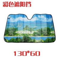 Aluminum foil car multicolour sun-shading stoopable thickening sun block sunscreen sun-shading board car