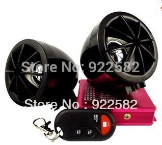 MOTORYCLE MP3 AUDIO ALARM SYSTEM /anti-theft digital MP3 +FM+usb/sd/ Burgarproof Motorcycle MP3 palyer(China (Mainland))