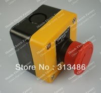 SHANDE QUALITY emergency stop push button switch e-stop with NC silver alloy contact