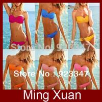 Free Shipping 2013 Holiday Sale Fashion Victoria Sexy Bikini With PAD Hot Swimsuits/Ladies Swimwear Beachwear 10pcs/lot