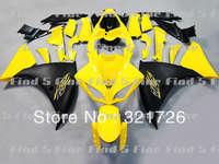 yellow black fairings for YAMAHA YZF-R1 2009-2011 YZF R1 YZFR 1 09 10 11 2009 2010 2011 YZFR1 09-11 ABS fairing kit