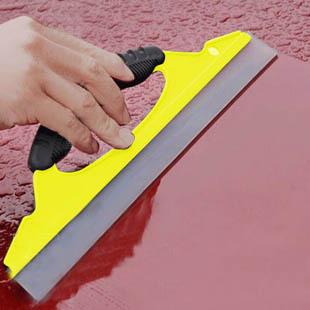 Silica gel soft broad-brimmed of nonrigid wiper blade snowboard wiper plate car wash tool glass water