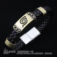 Sakura sign of leather bracelet vintage jewelry fashion knitted bracelet