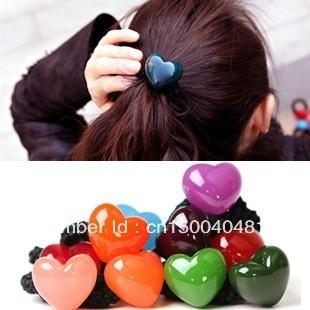 Hair accessory hair accessory aznavour az love shaped candy color headband hair rope tousheng hair accessory