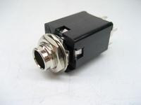 6.35 stereo earphones socket belt screw gasket fitted socket