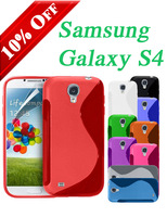 S-LINE WAVE GRIP SERIES SILICONE GEL CASE COVER FOR SAMSUNG GALAXY S4 i9500