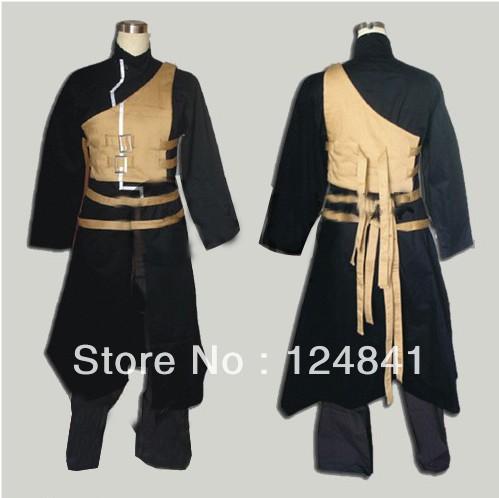 NARUTO Gaara Shippuden Anime Cosplay Costume black dress Gaara Shippuden(China (