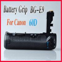 Free SHIPPING!!NEW Pro Vertical Battery Grip BG-E9 BGE9 BP-60D for Canon EOS 60D DSLR Camera,DROP SHIPPING!!