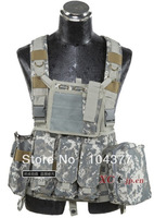 Free shipping!Outdoor vest army vest Molle tactics Amphibious CS  vest Camouflage tactical equipment  ride vest