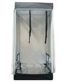 "60*60*140CM(23.6""*23.6""*55.1"")grow tent/hydroponics grow tent/ grow room/hydroponics room/grow box/ Mylar fabric/powder coating(China (Mainland))"