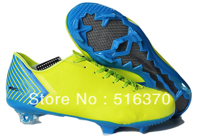 free shipping 2013 new discount Messi outdoor indoor cleats soccer shoes football soccer boots size eur 39-45(China (Mainland))