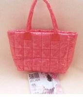 Women's bags women 2014 winter down sponge oversized plaid bag space cotton-padded jacket shoulder bag g11