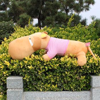 Big head dog doll pillow plush toy cloth doll dog pillow birthday gift schoolgirl