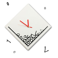 free shipping 3pcs Clock time clock diy wall clock
