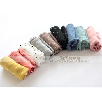 2013 spring child baby girls clothing cotton trousers 100% round dot pants legging candy pants