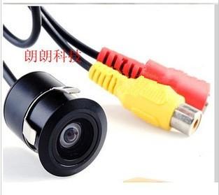 The visual reversing camera infrared night vision camera reversing video system car camera