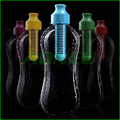 Outdoor Sport Camping multifunctional Carbon filter Health Water Bottle Filtered Drinking Bottle 600ml with retail Box 6pcs/lot(China (Mainland))