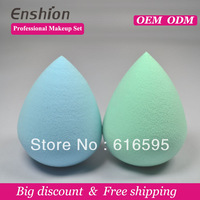 Enshion Excellent latex free makeup sponge oval makeup sponge with competitive price