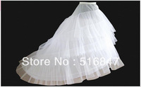 2013 Hot sale New Fashion Big Mermaid/Trumpet White/Ivory Petticoat Free shipping