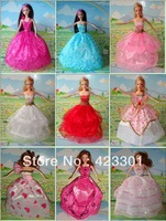 2013 new arrival 50 PCS  Elegant  American girls dolls' wedding dresses free ship