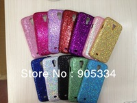 Free Shipping,20pcs/lot For Samsung Galaxy S4 i9500 bling gitter shining  back hard case Hard case for samsung  galaxy S4