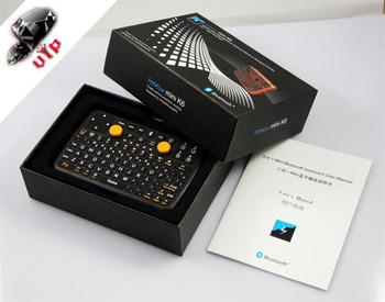 3 IN 1 MiNi Wireless Bluetooth Keyboard Mouse GamePad Combo For ipad iphone PC PDA STB DVB TV +Free Screen guard +Free Pen