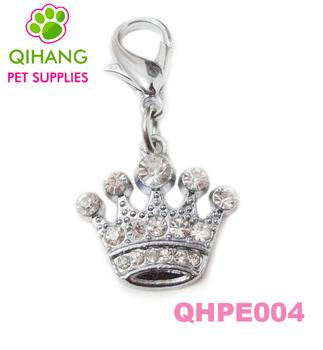 2013 NEW ARRIVAL Fashion pet rhinestone charm full rhinestone pet tags Free shipping