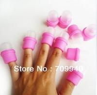 Free Shipping -  10 x Wearable Salon DIY Nail Acrylic UV Gel Polish Remover Soak Soakers Cap Tool DropShipping