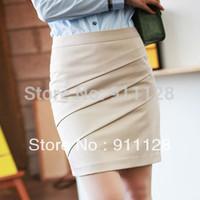 2014 women's spring and summer new arrival short skirt step a-line skirt bust skirt ol slim hip medium skirt professional