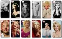 New design!!wholesale 12PCS/LOT(12style) Marilyn Monroe and hard case back cover for iPhone 5 5th 5S+free shipping+