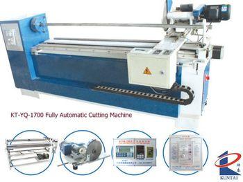 CE Certified Fabric Cutting / Slitting Machine
