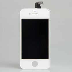 White LCD Display Touch Digitizer Glass Screen Assembly for iPhone 4S 4GS BA092(China (Mainland))